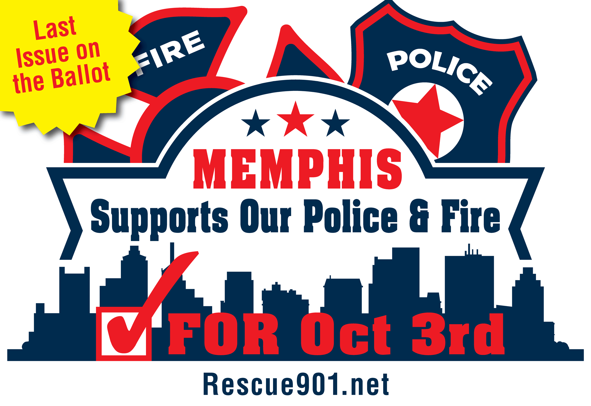 Memphis Referendum Logo - Last Issue On The Ballot Version